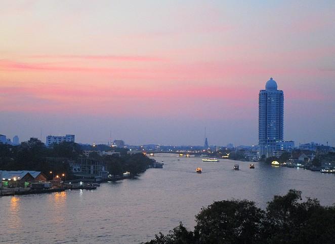 bangkok-zonsondergang