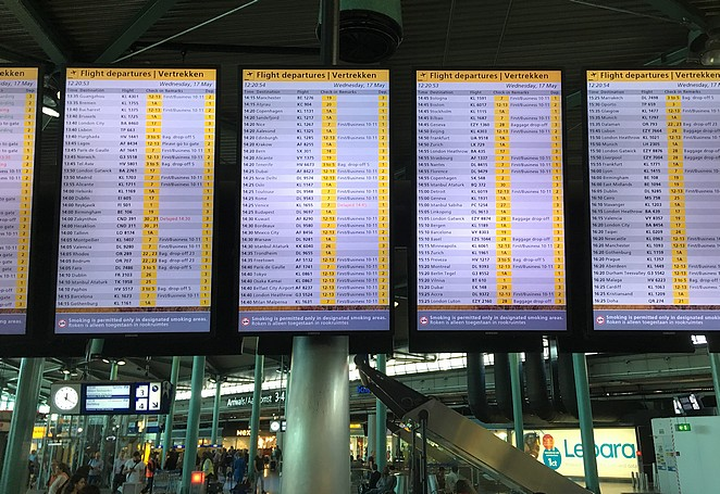schiphol-departures