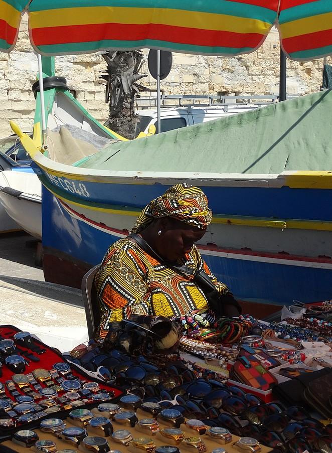 afrikaanse-vrouw-markt