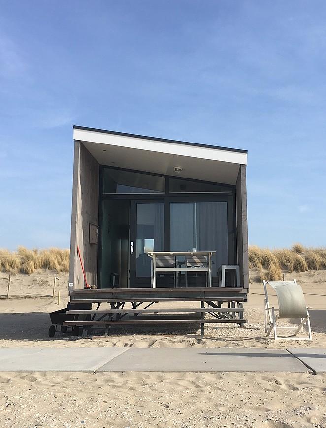 kijkduin-strandhuisje