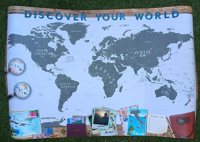 scratch-map-wereld