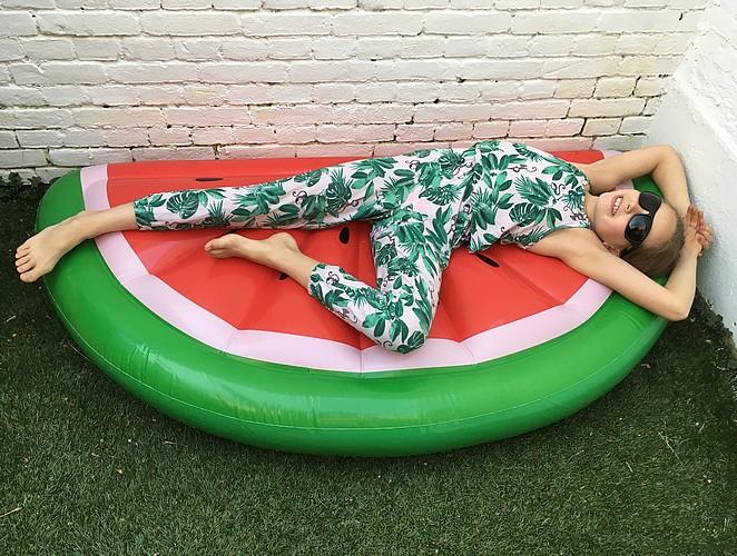 watermeloen-opblaasbaar