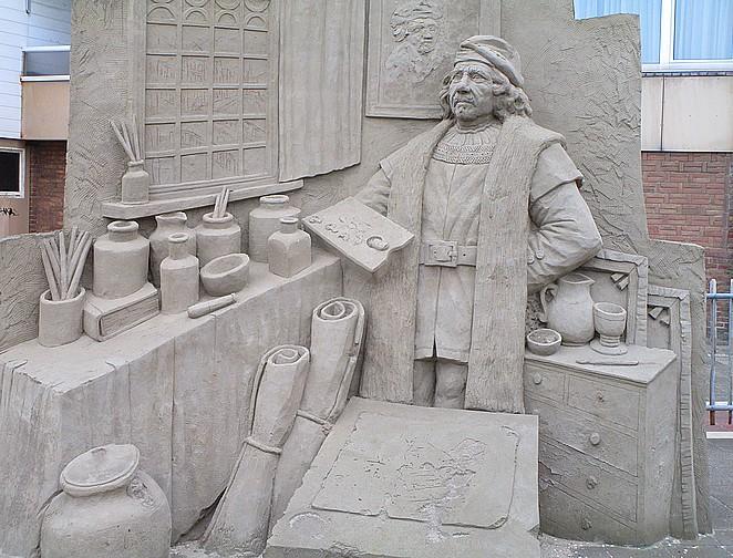 zandsculpturen-zandvoort