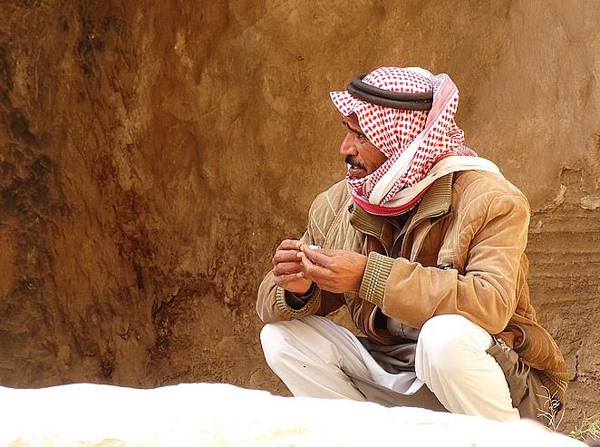 jordaniër-little-petra