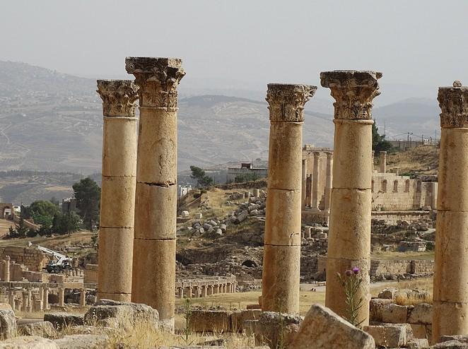 mooiste-plekken-jordanië-jerash