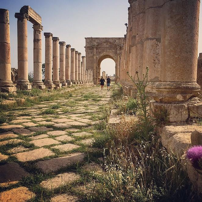 mooiste-plekken-jordanie-jerash