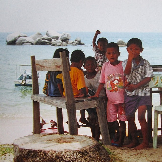jongetjes-tioman-maleisie