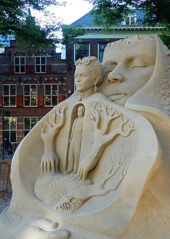 zandsculpturen