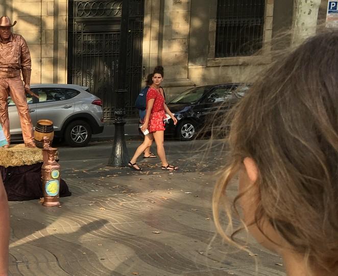 living-statues-barcelona