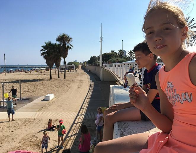 met-kinderen-in-barcelona