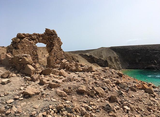 playa papagayo-mooi-strand-lanzarote