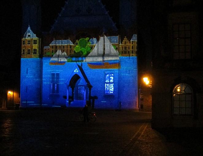 lichtshow-ridderzaal-den-haag