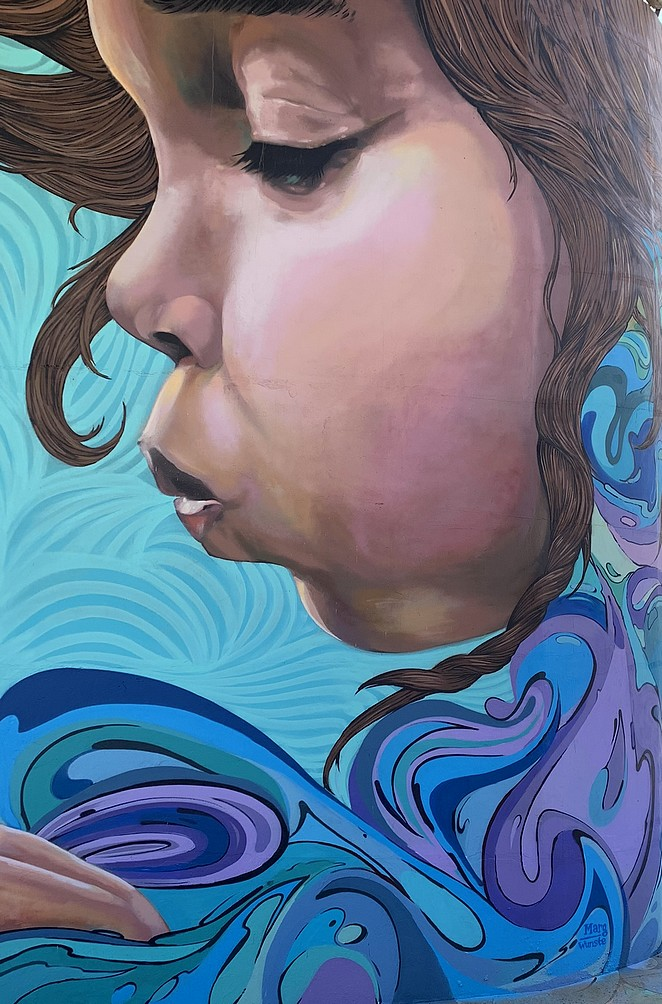 paarse-muurschildering
