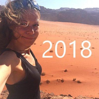 Jaaroverzicht 2018: reizen, werk en privé