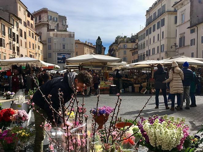 bloemenmarkt-rome