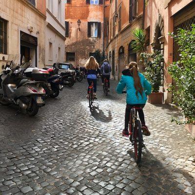 Op de fiets langs de highlights van Rome
