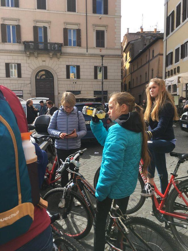 fietsen-met-tieners-in-rome