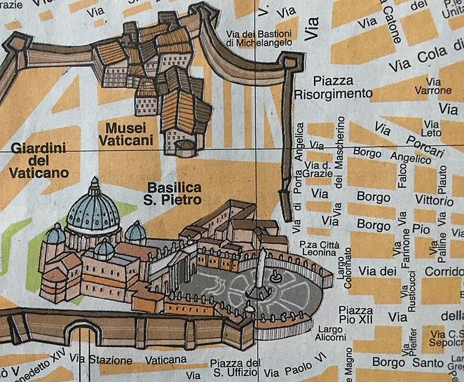 plattegrond-vaticaanstad