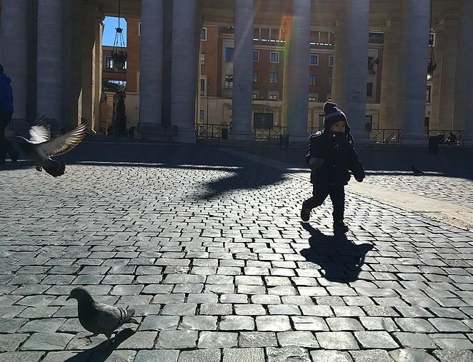 vaticaanstad-peuter