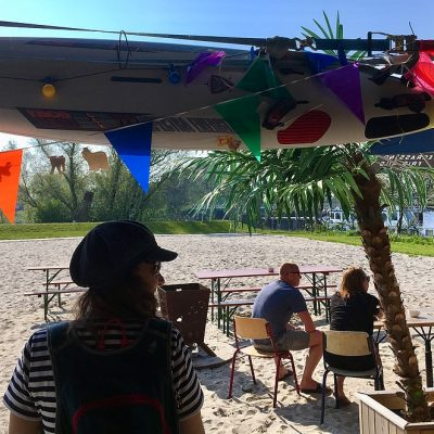 Stadsstrand Gouda: beachin' bij de Vrijheid op GOUDasfalt