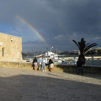 Waar naartoe in Bari als het regent