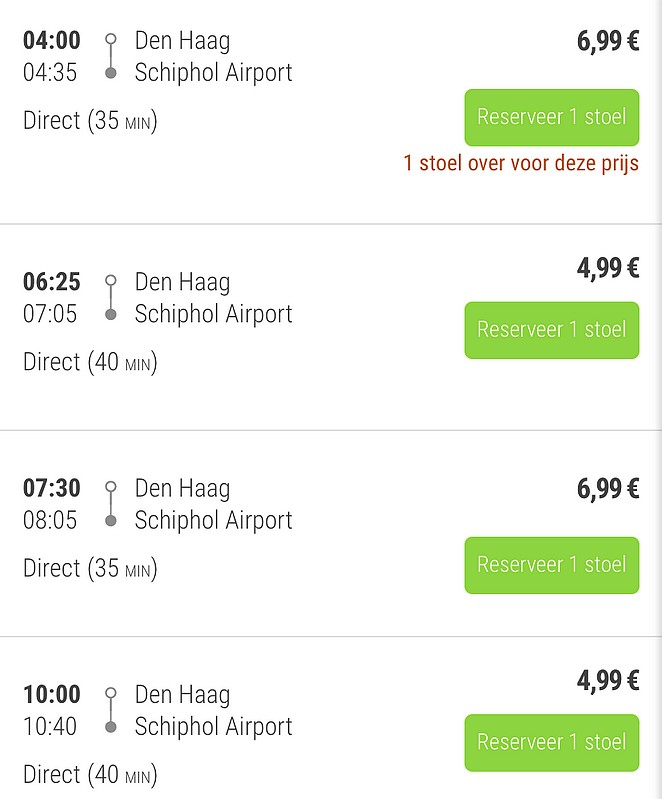 bus-den-haag-schiphol