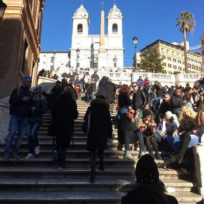 De Spaanse Trappen in Rome: eten, slapen en (niet) doen