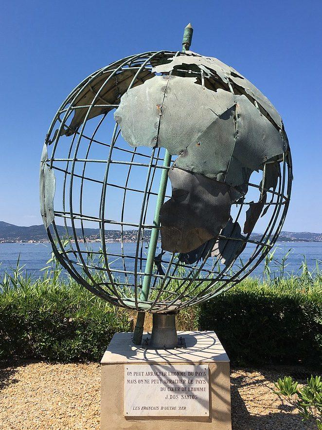 wereldbol-saint-tropez
