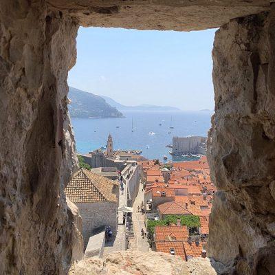 Wandeling over de stadsmuren van Dubrovnik