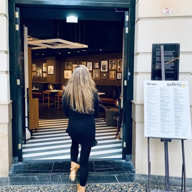 Creatieve gerechten bij Gallery61 in de Passage in Den Haag