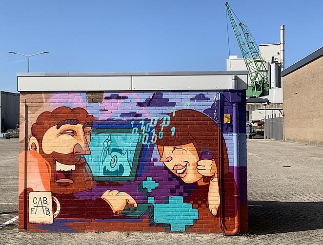 street-art-caballero-fabriek