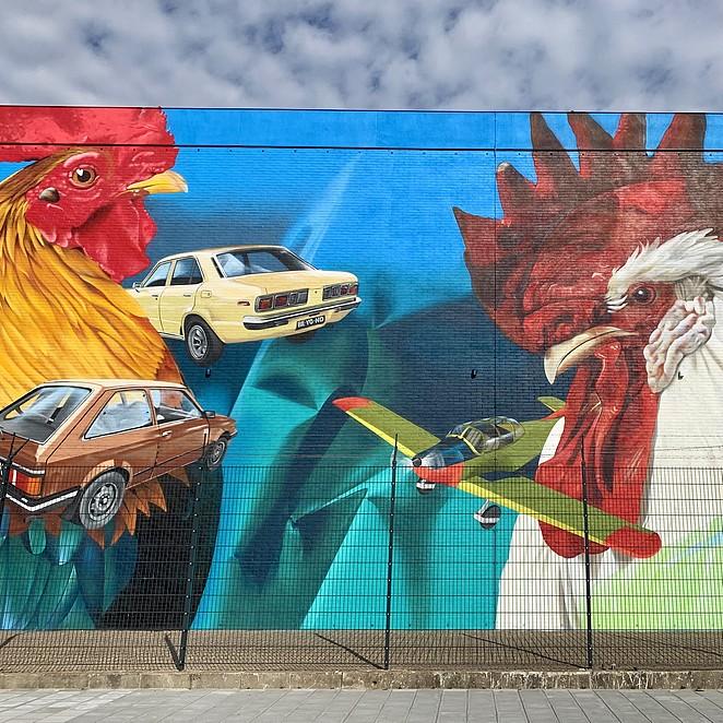 Street art in Den Haag: doe de Binckhorst street art route