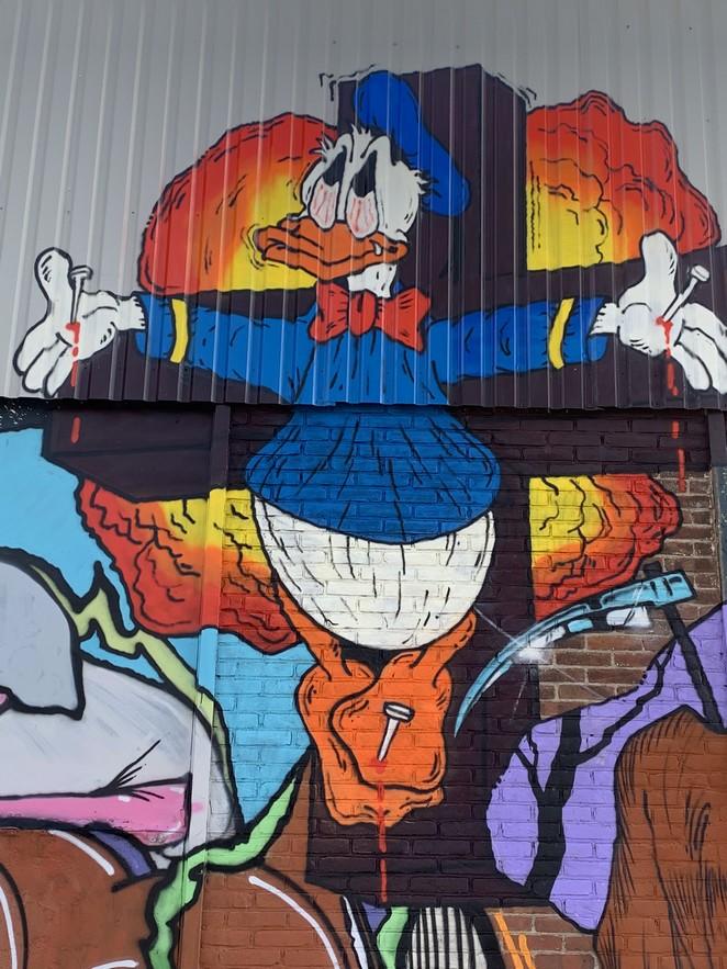 street-art-donald-duck