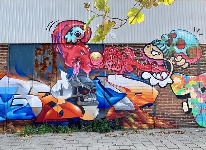 street art-mercuriusweg-den-haag