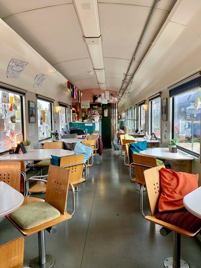 train-lodge-restaurant