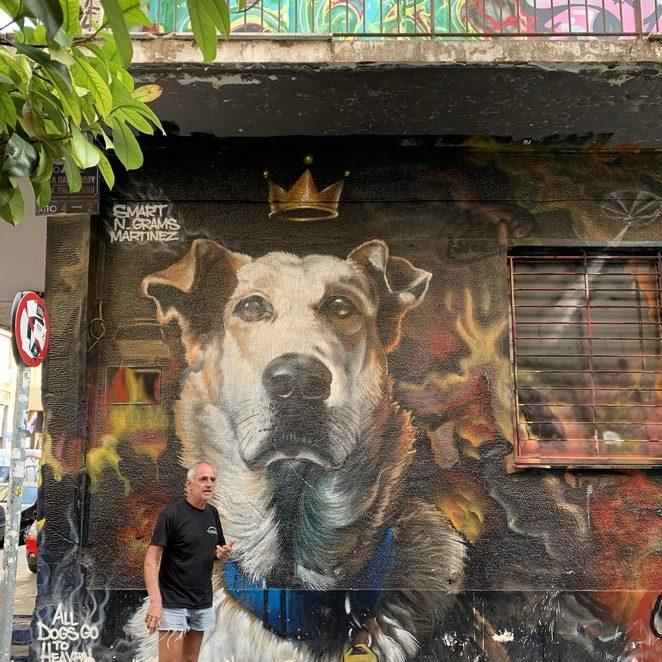 Loukanikos, de protesthond van Athene, leeft voort