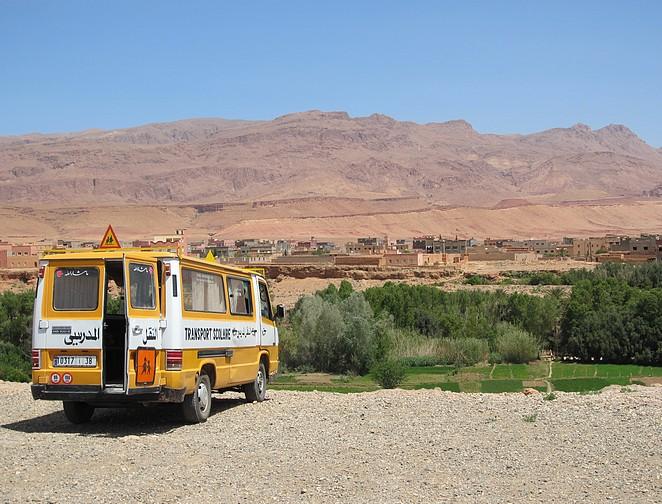 schoolbus-marokko