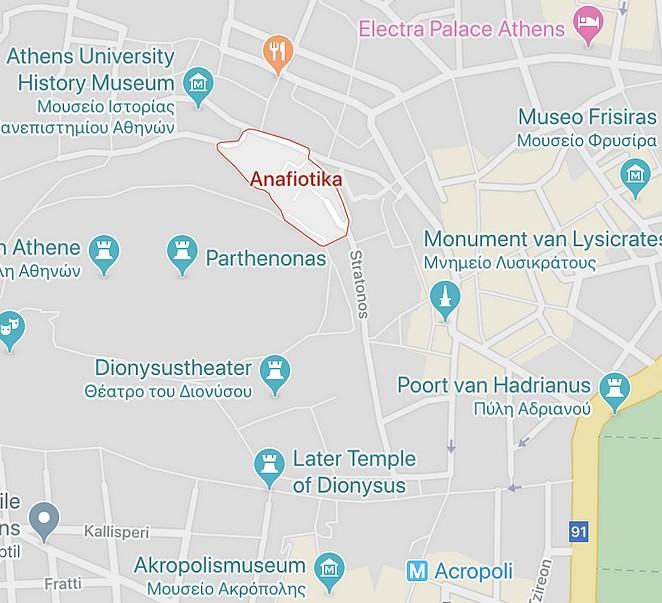 anafiotika-map