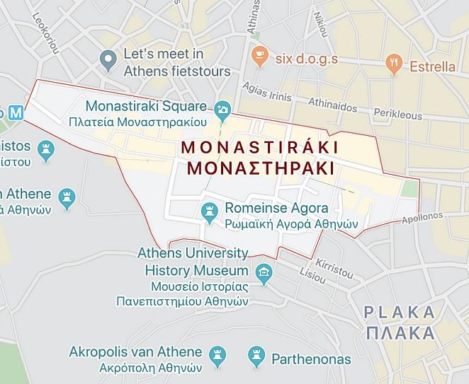 monastiraki-map