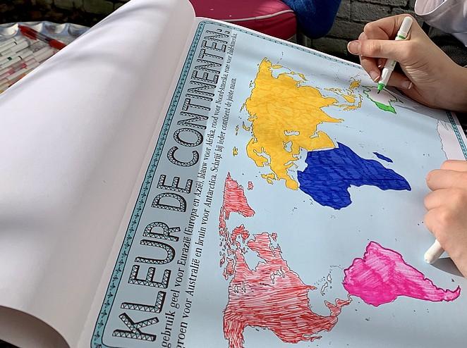 kleurboek-wereld