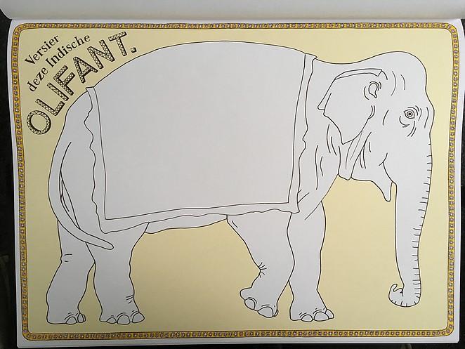 plaatje-olifant