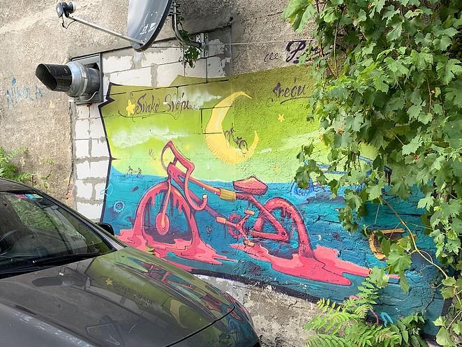 street-art-belgrado-fiets
