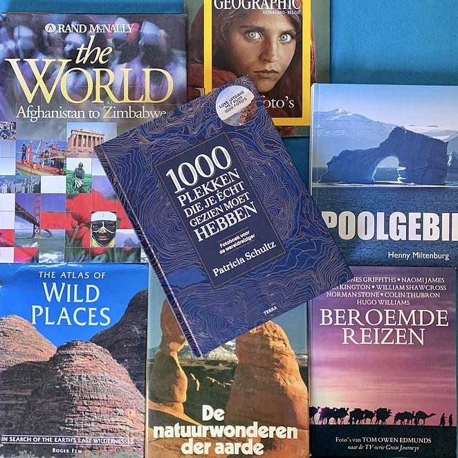 Fotoboek met reistips: 1000 plekken die je echt gezien moet hebben