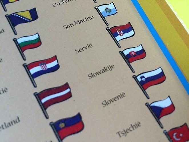 europa-vlaggen