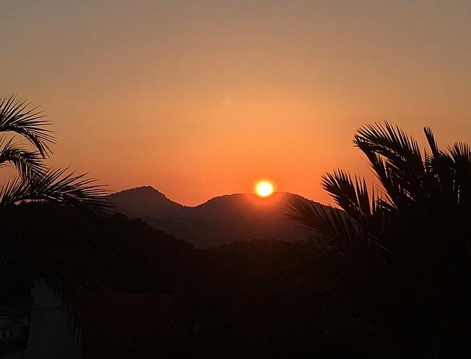 sunset-mallorca -april