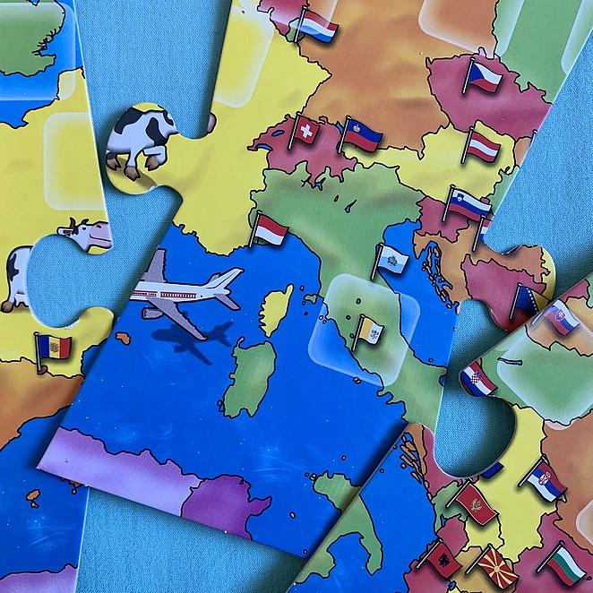 Vlaggenspel: leer de Europese vlaggen of de vlaggen van de wereld