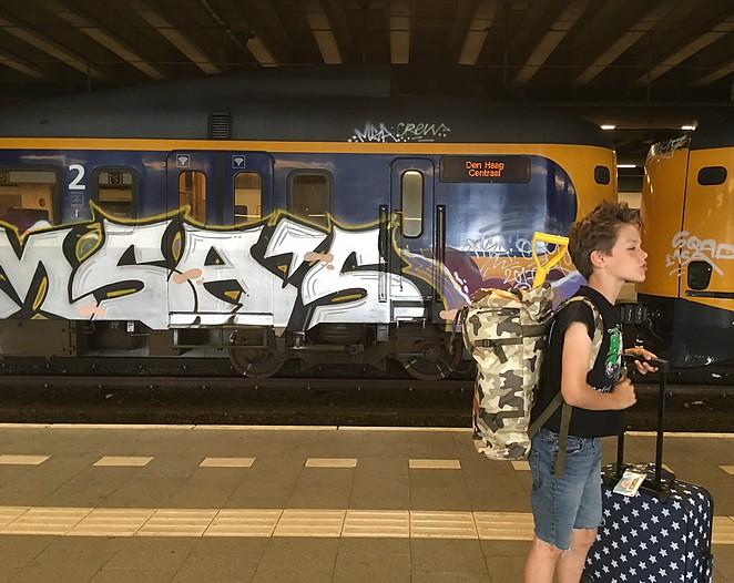 met-de-trein-naar wijk-aan-zee