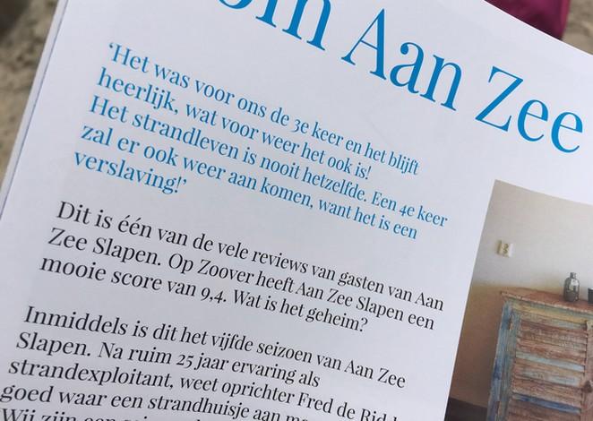 review-aan-zee-slapen