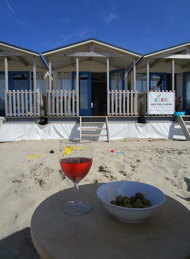 leuk-strandhuisje