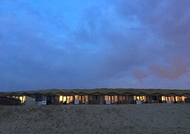 strandhuisje-avond